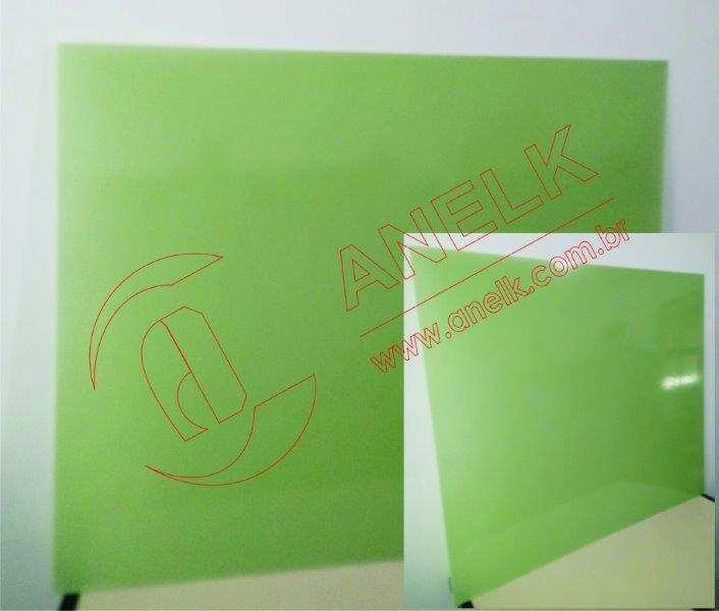 Chapa de fibra de vidro