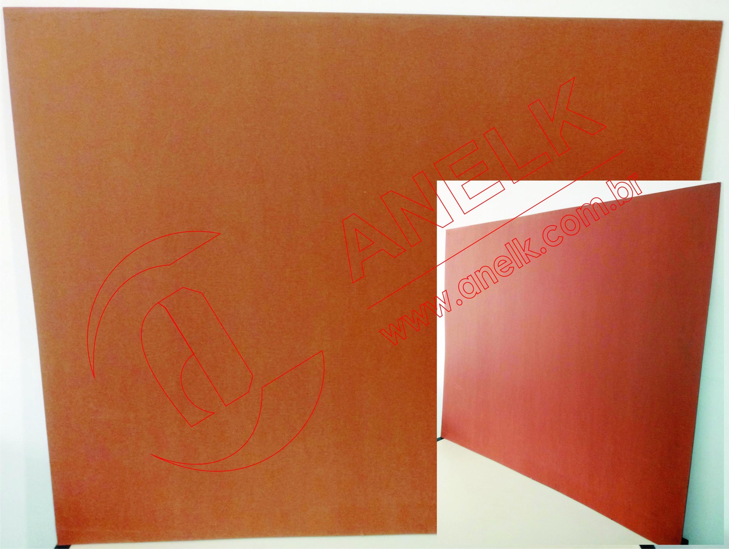 Fibra industrial vermelha